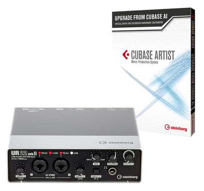 Cubase Artist 9.5 Upgrade AI + UR22 Set